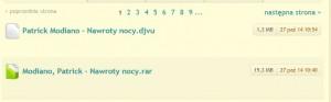 27 października na chomikuj.pl pojawiły się polskie tłumaczenia noblisty. Nawet piratom, którzy nie muszą się martwić o umowy z autorem czy tłumaczem rozpowszechnienie utworów zajęło ponad dwa tygodnie. (il.: chomikuj.pl)