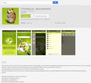 il. Nowa wersja aplikacji Chomikuj.pl na androida. (źródło: Google Play)