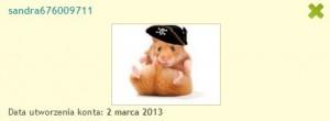 Awatar jednego z ostatnio założonych kont na Chomikuj.pl (źródło: chomikuj.pl)