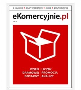 il: okładka magazynu wydawanego przez portal ekomercyjnie.pl (źródło: ekomercyjnie.pl.