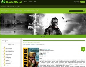 Nowa nazwa, starzy uploaderzy umieszczający wciąż popularne tytuły. (źródło: www.ebooks4me.pl)