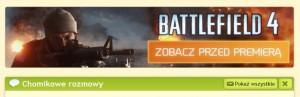 il: reklama Battlefield 4 na portalu chomikuj.pl (źródło: chomikuj.pl)