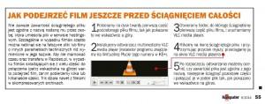Informacja na stronach poświęconych promocji z Rapideo.pl. Od razu widać, ze redakcja miesięcznika wie, jakie materiały będą szczególnie chętnie ściągane (źródło: Komputer Świat 6/2014)
