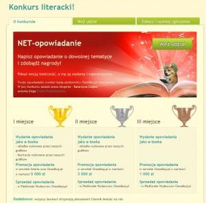 """il: Nagrody czekające na laureatów konkursu """"NET-opowiadanie"""". (źródło: chomikuj.pl)"""