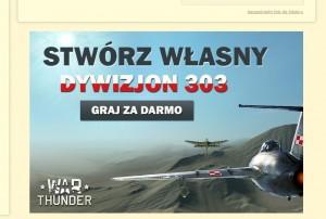 il.: reklama gry MMO, która pojawiła się ostatnio na Chomikuj.pl.